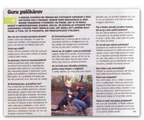 Článok o Pes v pohode v časopise PROFIT